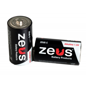 ZEUS Alkaline C Battery 12pk