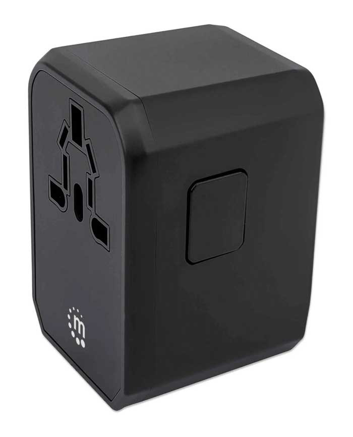 MANHATTAN Power Delivery Wall Charger and Travel Adapter