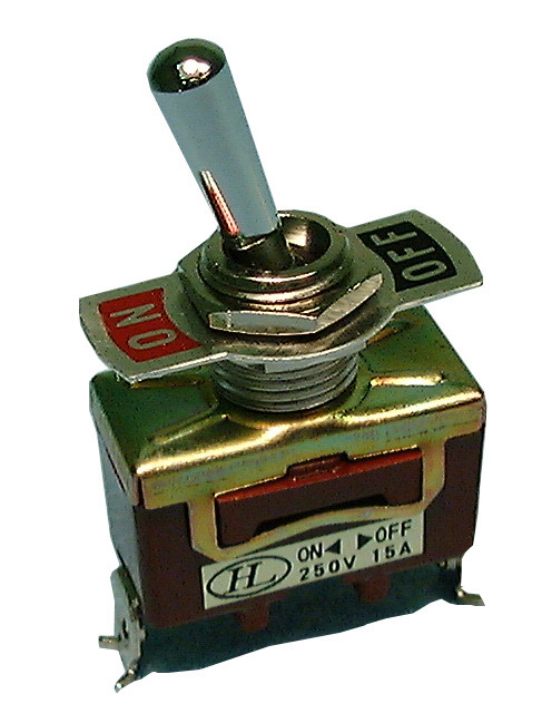 PHILMORE SPST On-Off Toggle Switch