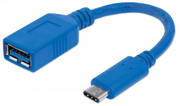 MANHATTAN USB 3.1 C Male to USB A Female Gen1 Cable 6""