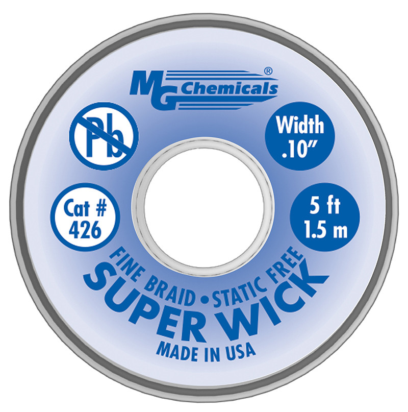 MG CHEMICALS Super Wick .1 Blue 5ft
