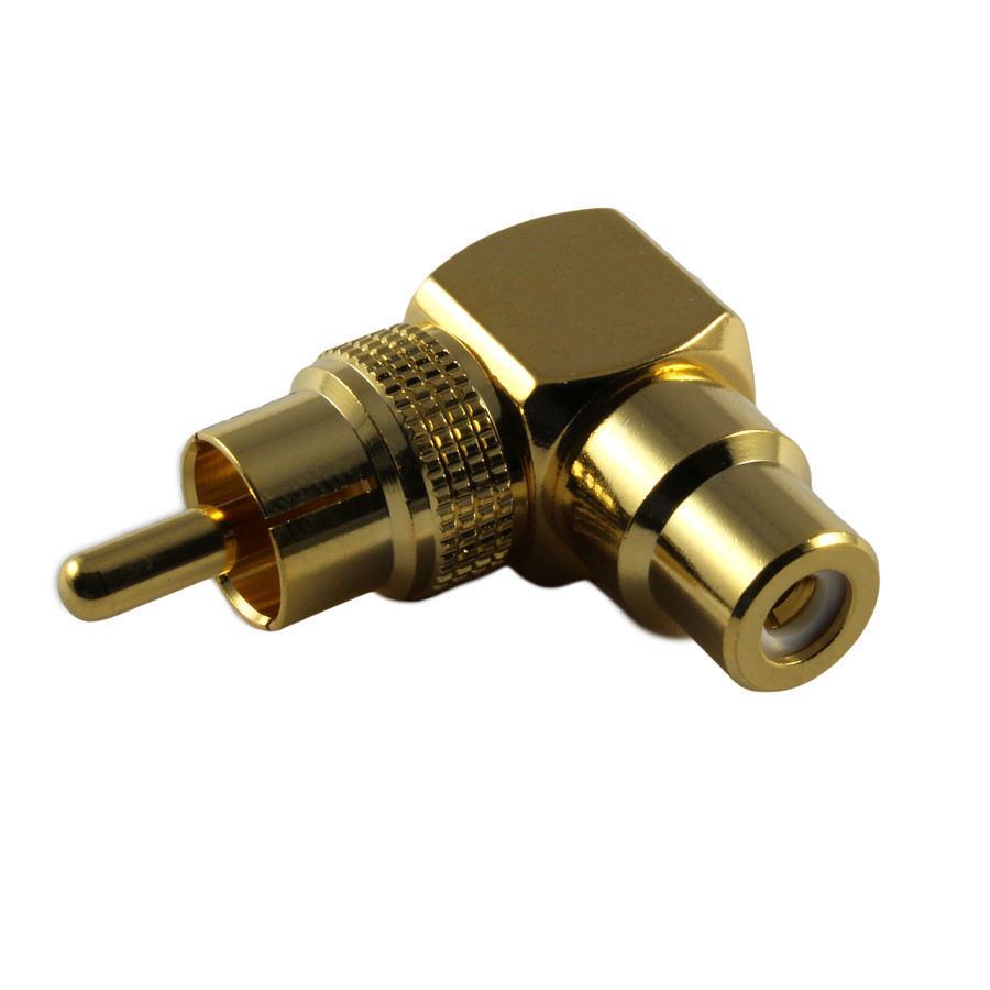 PHILMORE Right Angle RCA Adapter