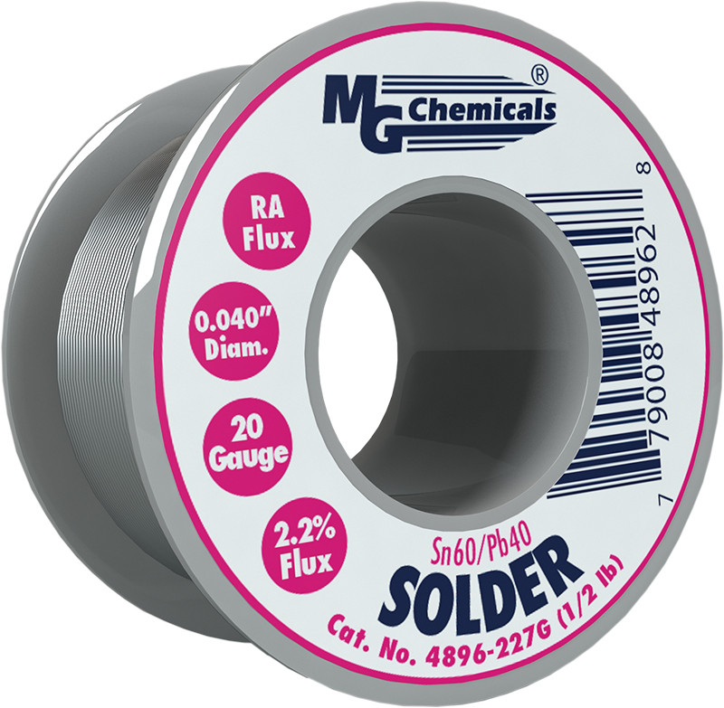 MG CHEMICALS Sn60 / Pb40 Leaded Solder .04