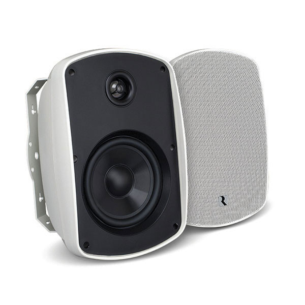 """RUSSOUND 6.5"""" 2-Way OutBack Indoor/Outdoor Speaker pair in White"""