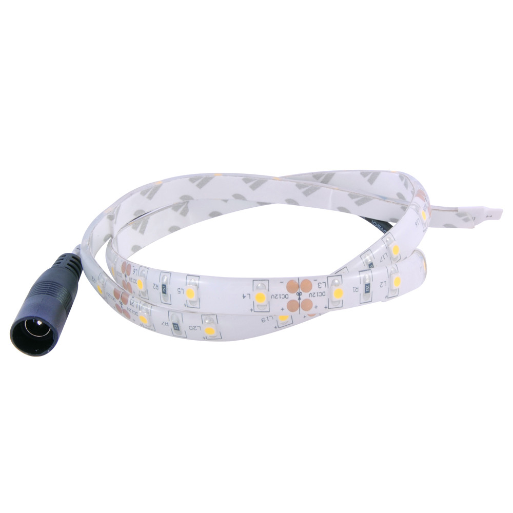 NTE 60 LED Strip 19in Cool White Water Resistant 12V