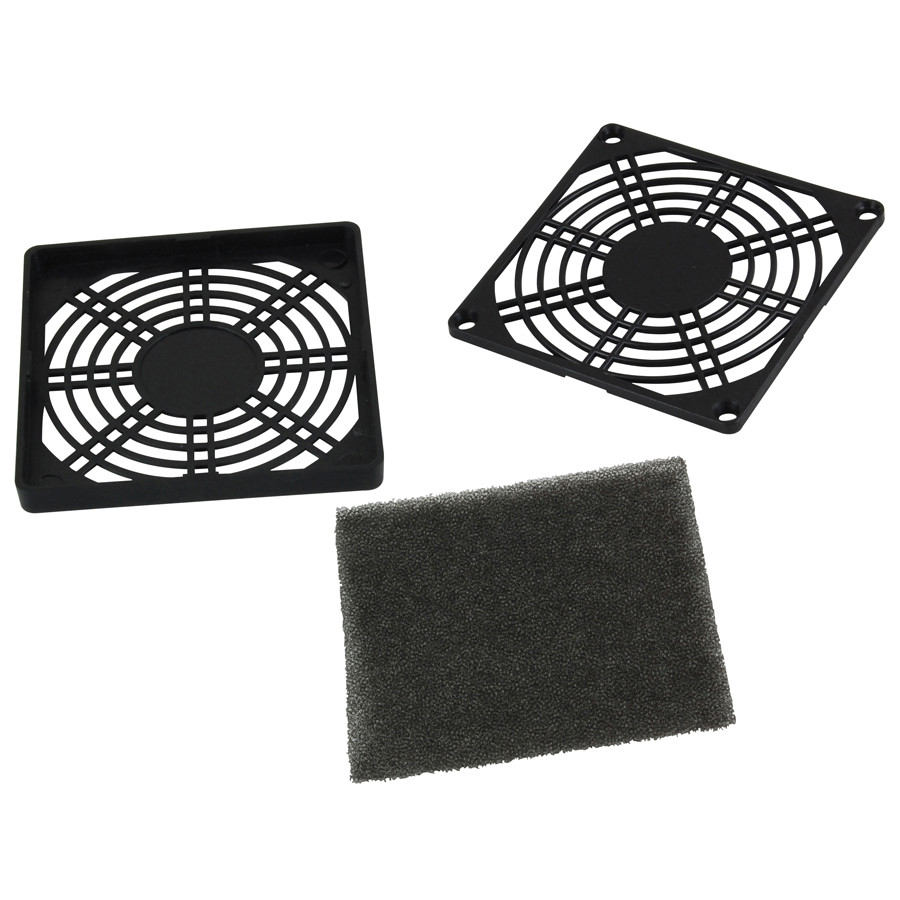 NTE 3 piece Fan Filter 80mm x 80mm