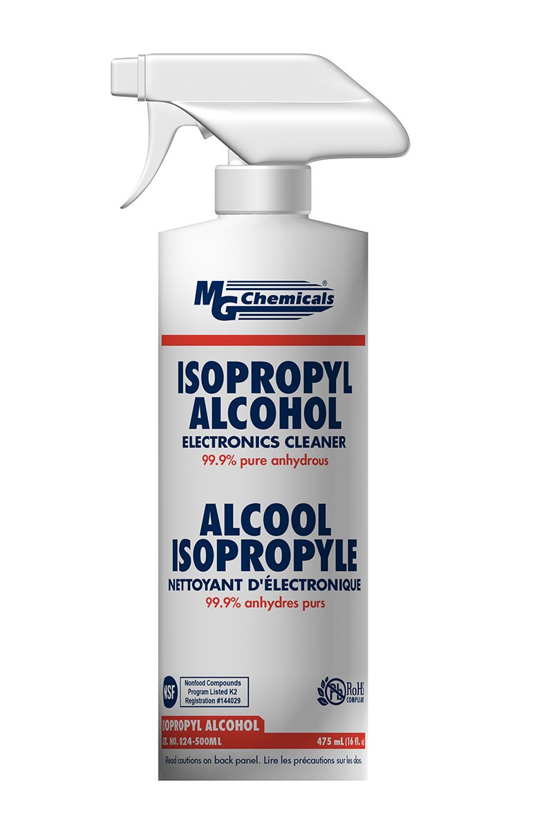 MG CHEMICALS Isopropyl Alcohol 99 9% Pure 475ml