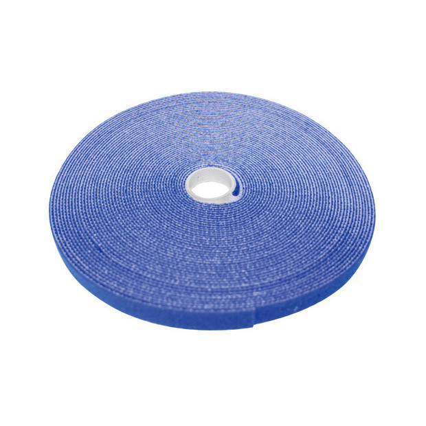 """ECLIPSE 3/4"""" Wide Hook and Loop Tape Blue (50 ft)"""