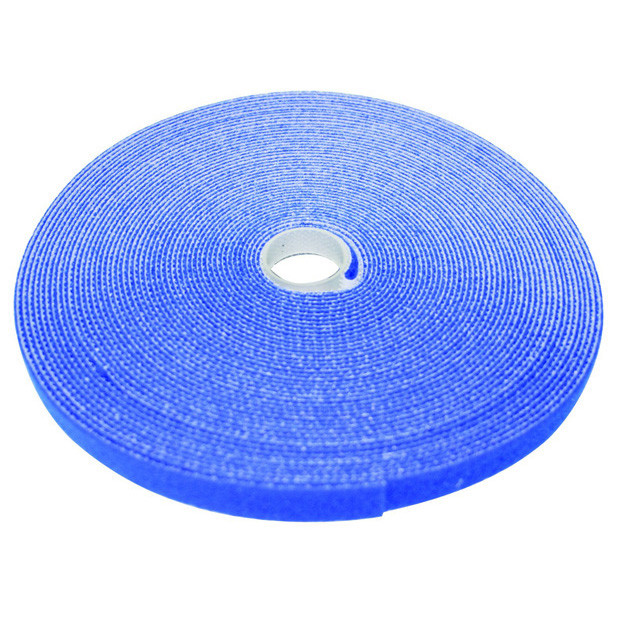 """ECLIPSE 1/2"""" Wide Hook and Loop Tape Blue (50 ft)"""