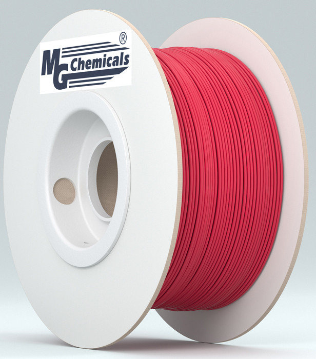 MG CHEMICALS 1.75mm ABS 3D Printer Filament 1kg Red