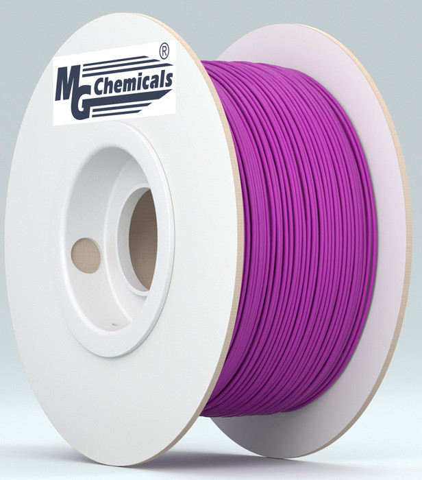 MG CHEMICALS 1.75mm ABS 3D Printer Filament 1kg Thermochromic Purple