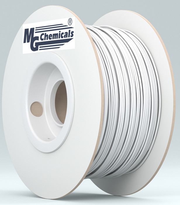 MG CHEMICALS 1.75mm ABS 3D Printer Filament 1kg White