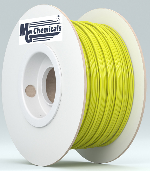 MG CHEMICALS 1.75mm ABS 3D Printer Filament 1kg Yellow