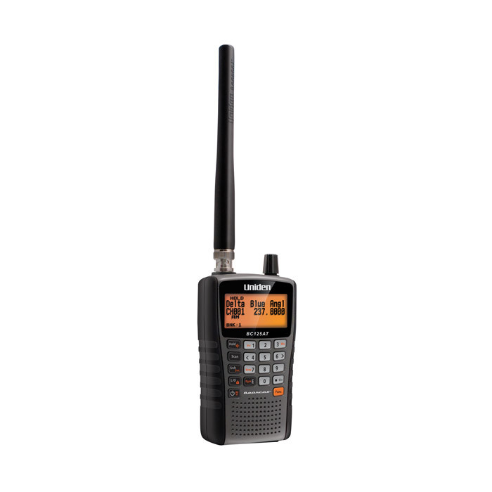 UNIDEN Uniden BC125AT 500-Channel Handheld Scanner with Alpha-tagging