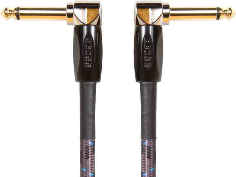 """BOSS 1/4"""" Instrument Cable Right Angle 6"""""""