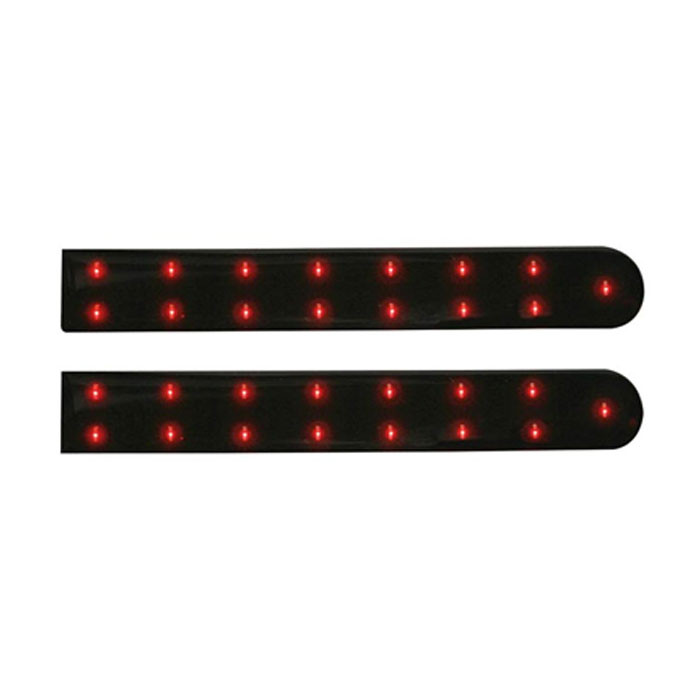 "VELLEMAN Red LED Strip with Self-adhesive - 5-29/32""- 12VDC"