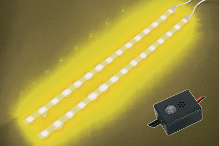 VELLEMAN Yellow LED Strip with Control Unit