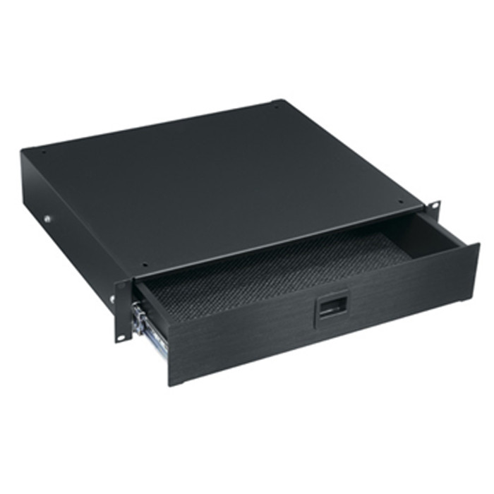 MIDDLE ATLANTIC 2U Utility Drawer with Spring Loaded Latch