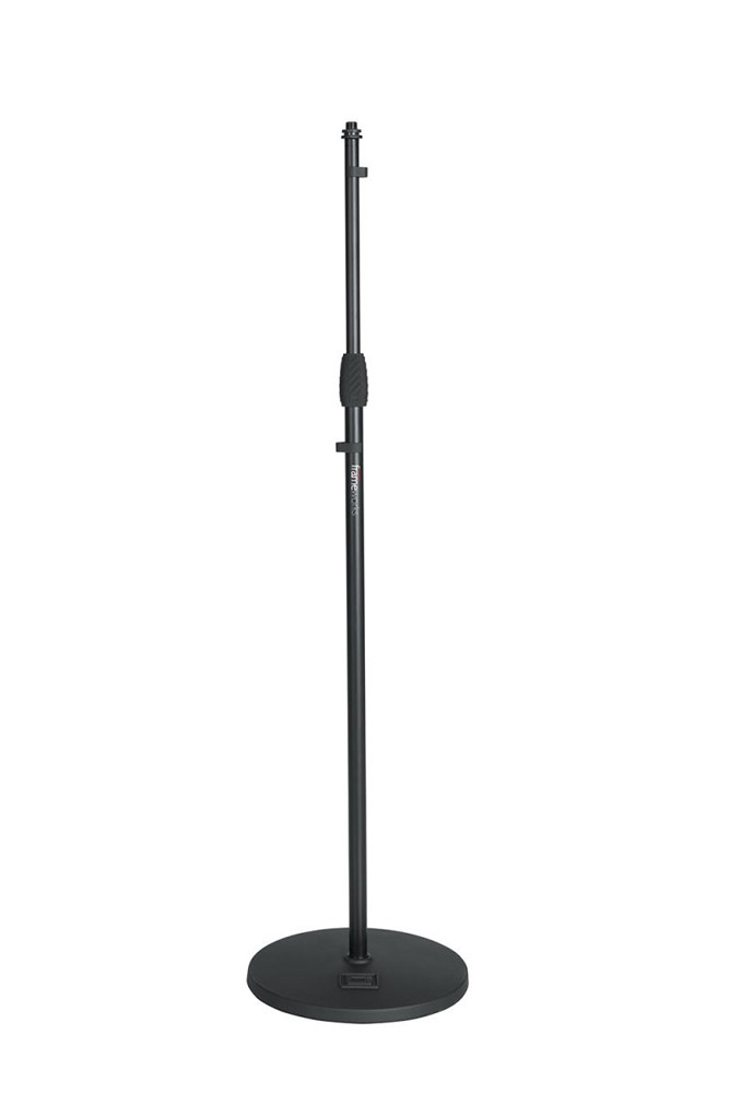 GATOR Microphone Stand With Round Base