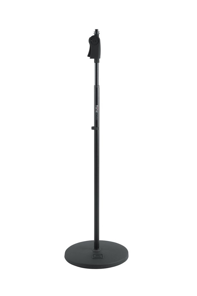 GATOR Mic Stand with One Hand Clutch