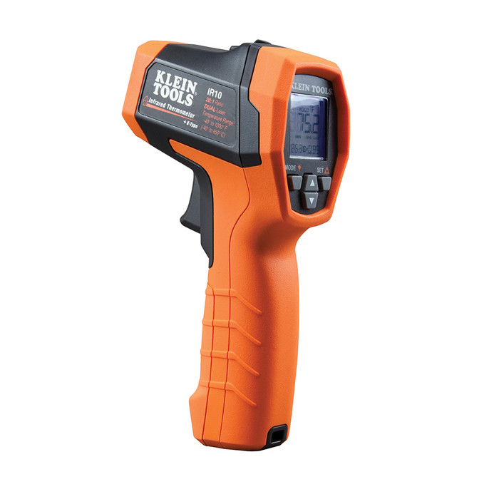 KLEIN Dual-Laser Infrared Thermometer, 20:1