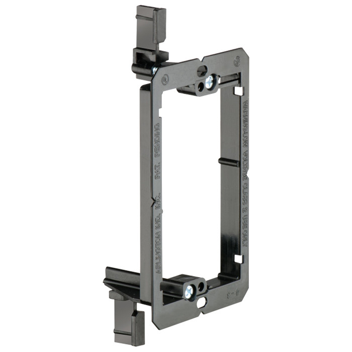 ARLINGTON Single Gang Low Voltage Mounting Bracket for Existing Construction 10pk