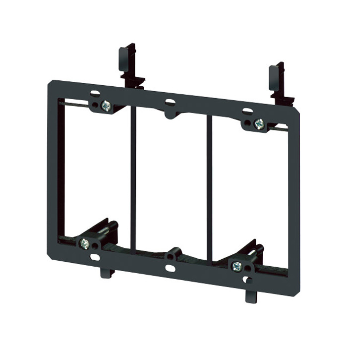 ARLINGTON Triple Gang Low Voltage Mounting Bracket for Existing Construction 5pk