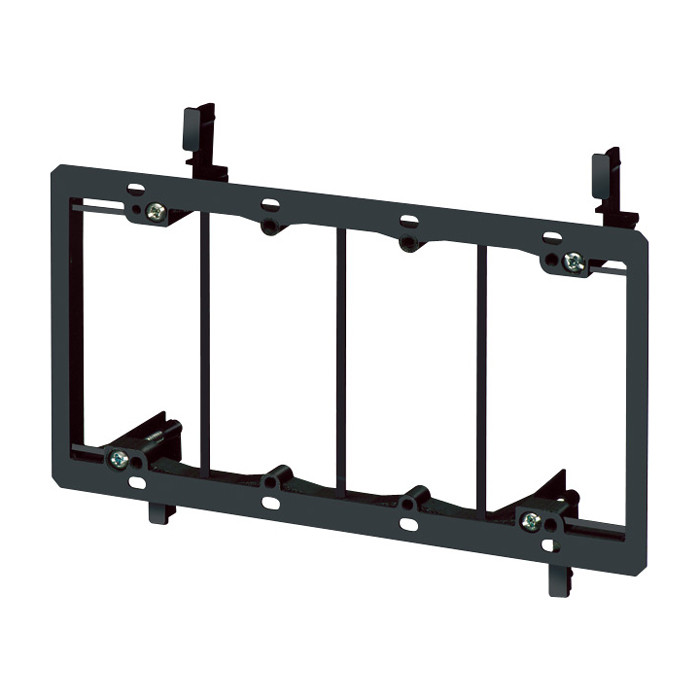 ARLINGTON 4 Gang Low Voltage Mounting Bracket for Existing Construction