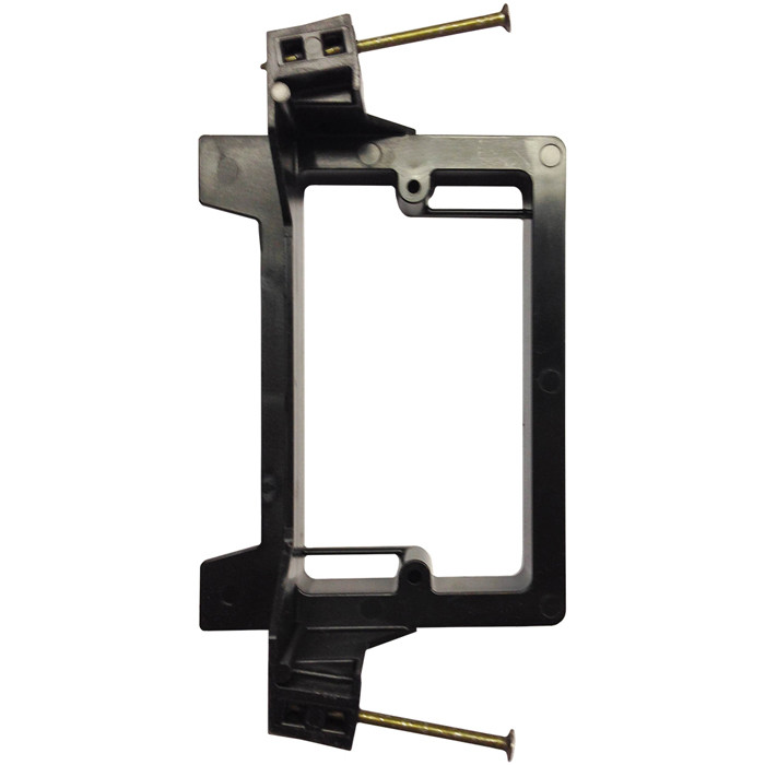 ARLINGTON Single Gang Nail On Low Voltage Mounting Brackets for New Construction