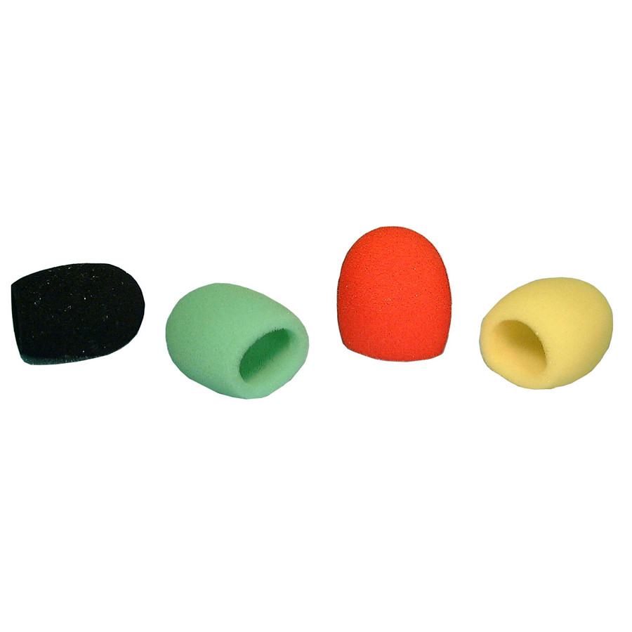 """PHILMORE Microphone Windscreen fits 1-3/8"""" to 1-3/4"""" 4pk"""
