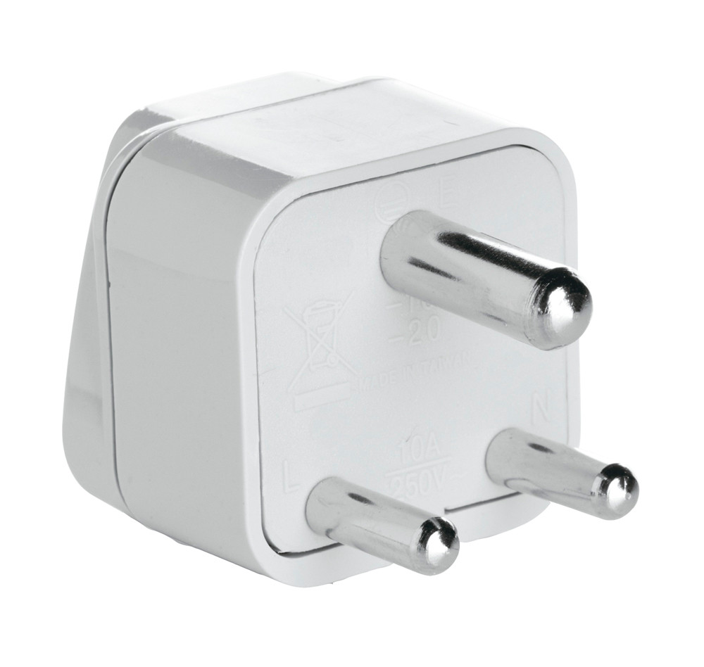 CONAIR Travel Smart Grounded Adapter Plug for India