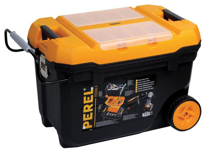 """VELLEMAN Mobile Tool Chest 26 3/8"""" x 16 17/32"""" x 15 3/4"""""""