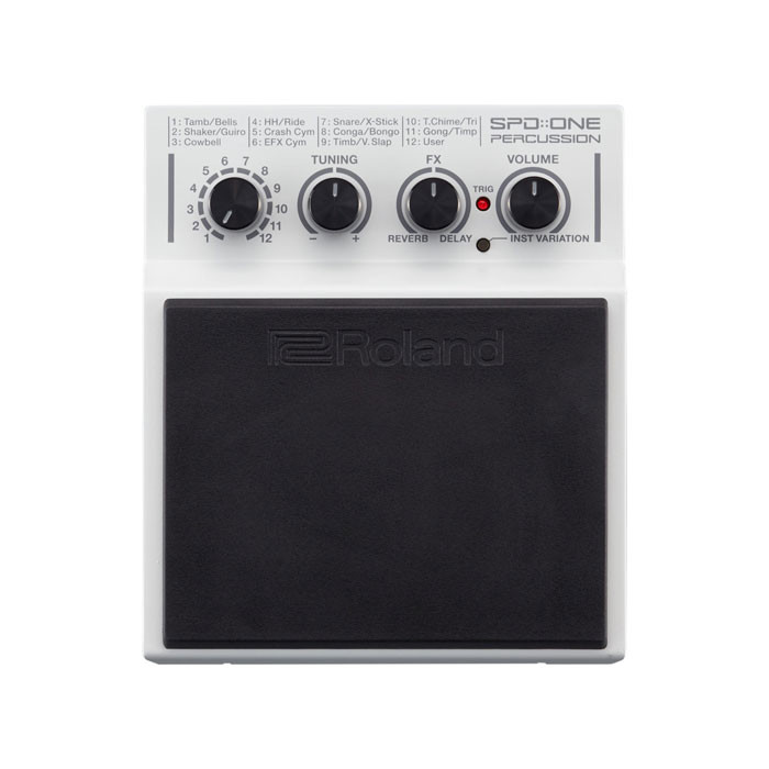 ROLAND Percussion Pad with 22 Sound Effects