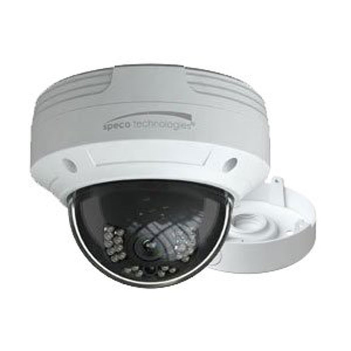 SPECO HD-TVI 1080p Outdoor IR Dome Camera 3.6mm