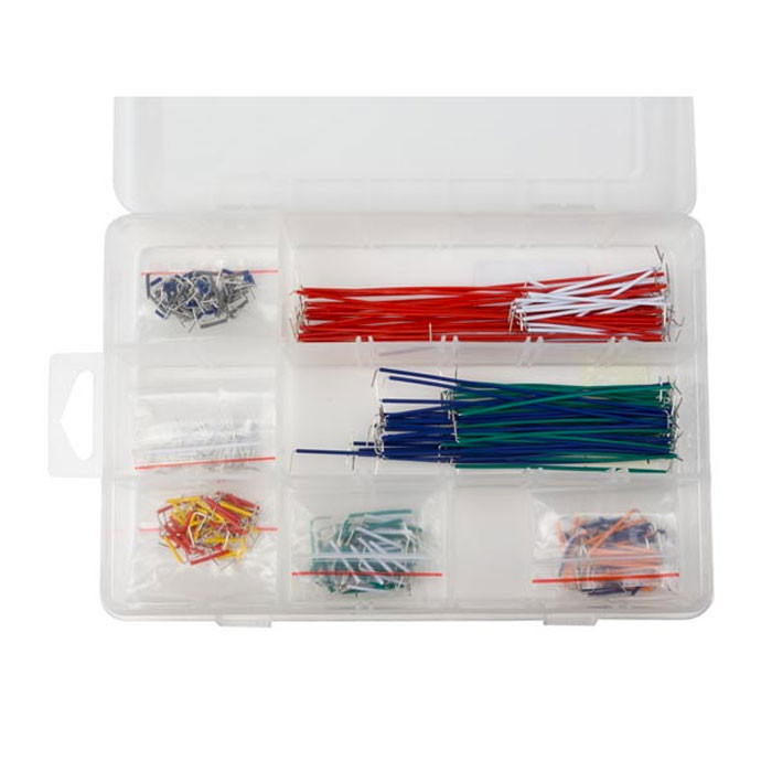 VELLEMAN Pre-formed Jumper Wire Kit 350pcs