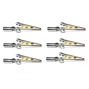 MUELLER Alligator Clip with Screw 6 pack