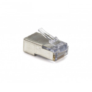 PLATINUM Shielded EZ-RJ45 for CAT5e & CAT6 with Internal Ground - 50 Pack