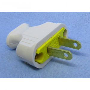 PHILMORE White AC Plug UL Approved