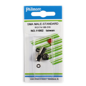 PHILMORE SMA Male Connector for RG174