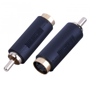 VANCO S-Video Female to RCA Male Adapter