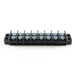 PHILMORE Dual Row Terminal Blocks 8 Pole 30amp