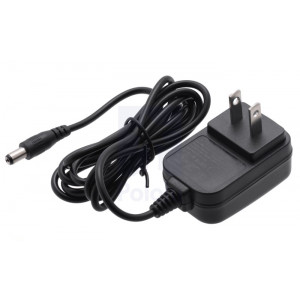 Wall Power Adapter: 5VDC, 1A, 5.52.1mm Barrel Plug, Center-Positive