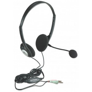 MANHATTAN Stereo Headset with Mic