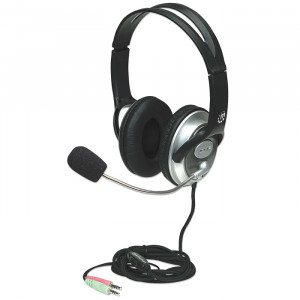 MANHATTAN Stereo Headset with Boom Mic