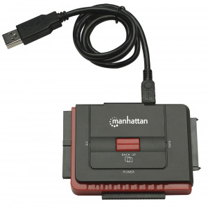 MANHATTAN Hi-Speed USB to SATA/IDE Adapter