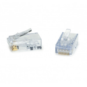 PLATINUM ezEX44 - ezEX-RJ45 CAT6 Connector - 100-Pack Jar