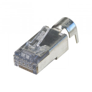 PLATINUM EzEX48 Shielded RJ45 External Ground Connector - 50-Pack Jar