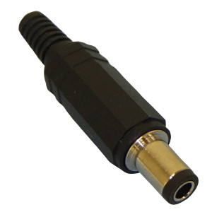 PHILMORE 3mm x 6.3mm DC Coaxial Power Plug