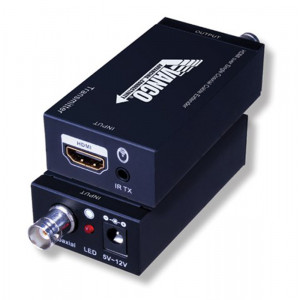 VANCO HDMI over Single Coax Cable Extender with IR