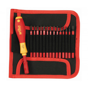 WIHA Insulated Narrow Profile SlimLine 15 Piece Set